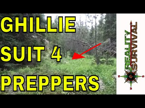 video 5 in 1 Hunting Ghillie Suit Camo Forest Woodland Camouflage 3D Tactical Suits