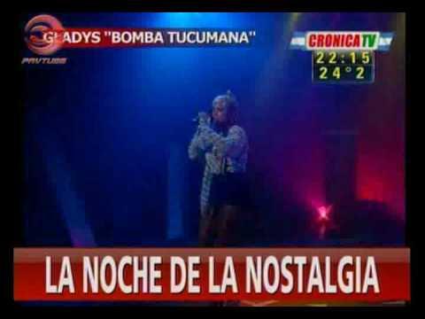 GLADYS  LA BOMBA TUCUMANA LA NUMERO 1 EN CRONICA TV
