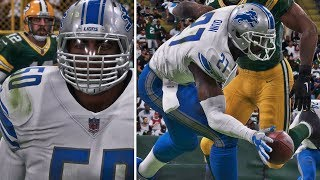 Madden 18 Career Mode - CHUBBY IS BACK! 5 SACKS & 3 PICK 6's!! ONE HAND INTERCEPTION!!!