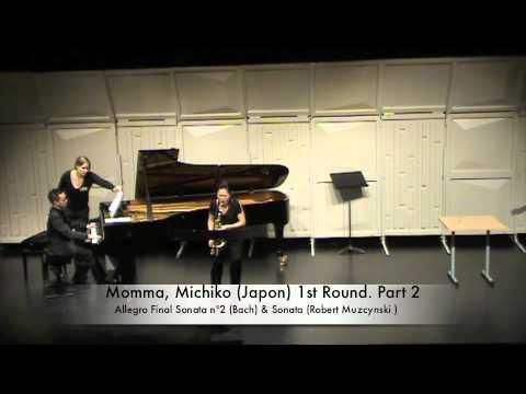 Momma, Michiko (Japon) 1st Round. Part 2