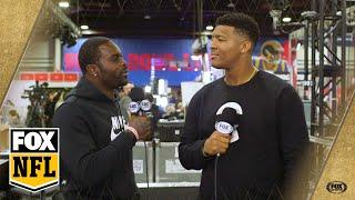 Michael Vick interviews Jameis Winston and welcomes the Bucs QB to Atlanta   FOX NFL