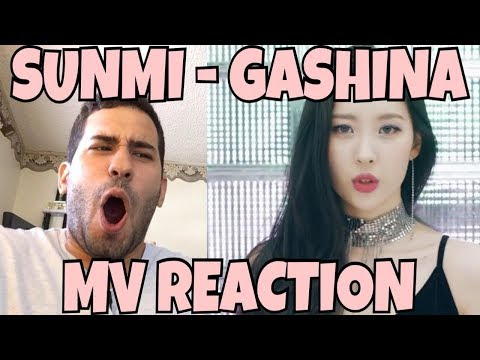 SUNMI (선미) - Gashina (가시나) MV Reaction [MY QUEEN IS FINALLY BACK!]
