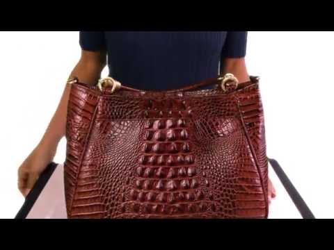 Brahmin Ruby Satchel Video