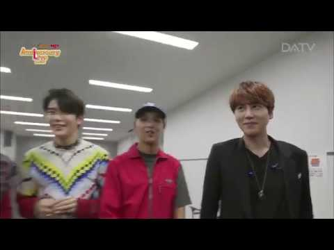 NCT & kyuhyun SJ in Japan 2016 (Back stage CUT)