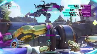 Back in the game |a D.va montage