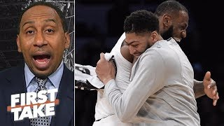 LeBron guilty of 'tampering' for Anthony Davis comments? | First Take