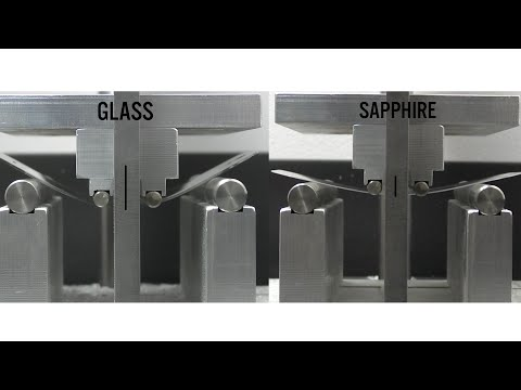 We scratch, bend, and break both Gorilla Glass, and sapphire side by side to see which is stronger, and which makes more sense on a smartphone.
