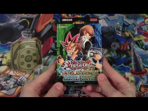 Yugioh Yugi & Kaiba Duelist Pack Special Edition Opening (Lost Video)