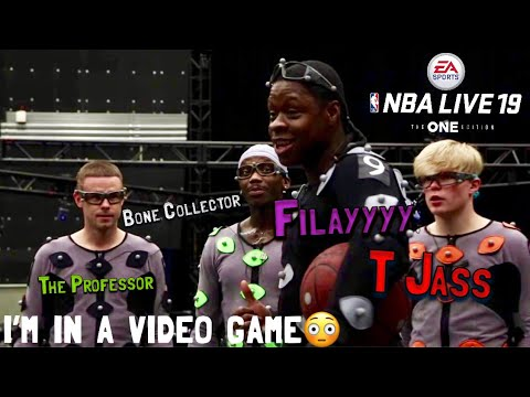 Behind the scenes of NBA LIVE 19!! Filayyyy, Bone Collector, and The Professor!!