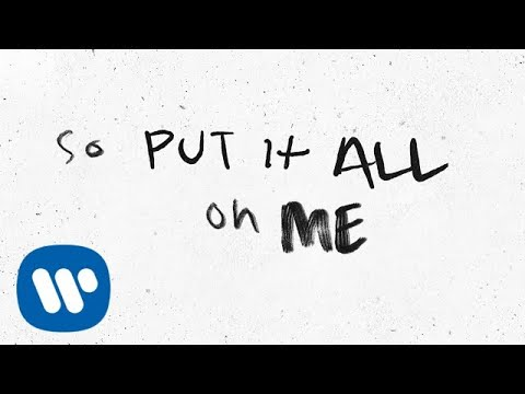 Ed Sheeran - Put It All On Me (feat. Ella Mai) [Official Lyric Video]