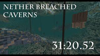 CTM Speedrun - Nether Breached Caverns - 31:20