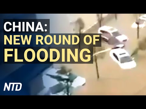 New round of flooding in China, earthquake hits Three Gorges Dam upstream | NTD News Highlights