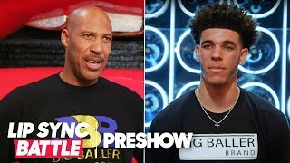 LaVar Ball vs. Lonzo Ball - Father vs. Son | Lip Sync Battle Preshow