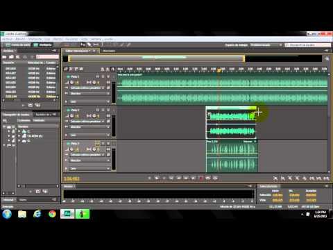 Masterizacion y mezcla de voz en Adobe Audition cs6