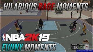 Hilarious RAGE/Funny Moments Compilation ft. SellAlot | NBA 2K19