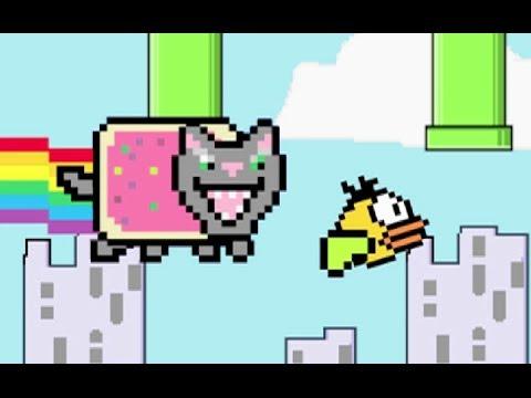 8-bit Tom Cat VS Annoying Floppy Bird