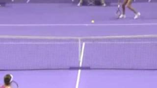 Yanina Wickmayer: WTA Antwerp vs Hantuchova (mooie punten)
