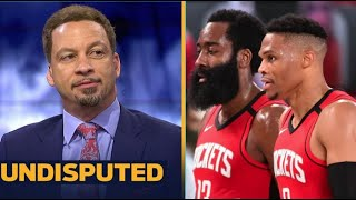 Chris Broussard: Harden and Westbrook are bringing the Rockets closer to the championship than ever