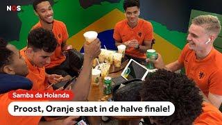 Taylor verslaat Hoever met FIFA, Ünüvar = los!   NOS Sport meets Oranje O17