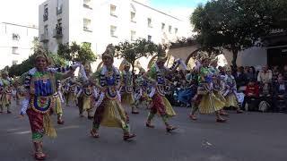 Los Pirulfos, desfile de Comparsas de 2019