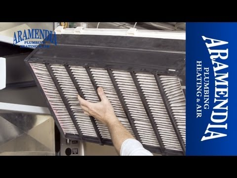 How to Replace Your Air Conditioning Filter | Aramendia Plumbing Heating & Air