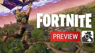 FORTNITE (iPhone, iPad, Android) | Beta Preview Gameplay