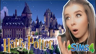 OMG 😱 HOGWARTS IN DIE SIMS 4⚡️- Komplette Harry Potter Welt
