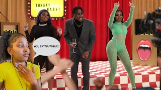 BRS Kash - THROAT BABY REMIX feat Dababy & City Girls || REACTION VIDEO
