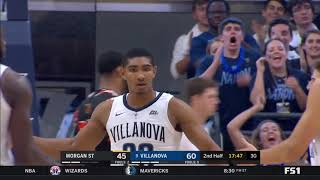 No. 9 Villanova vs Morgan State Highlights - #BIGEASThoops