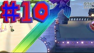 Super Mario 3D World Walkthrough: Part 10 [Kit and Krysta's Favorite Levels]