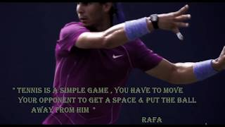 RAFAEL NADAL  - THE ART OF LONG RALLIES