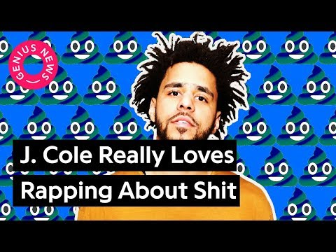 J. Cole Really Loves Rapping About Shit | Genius News