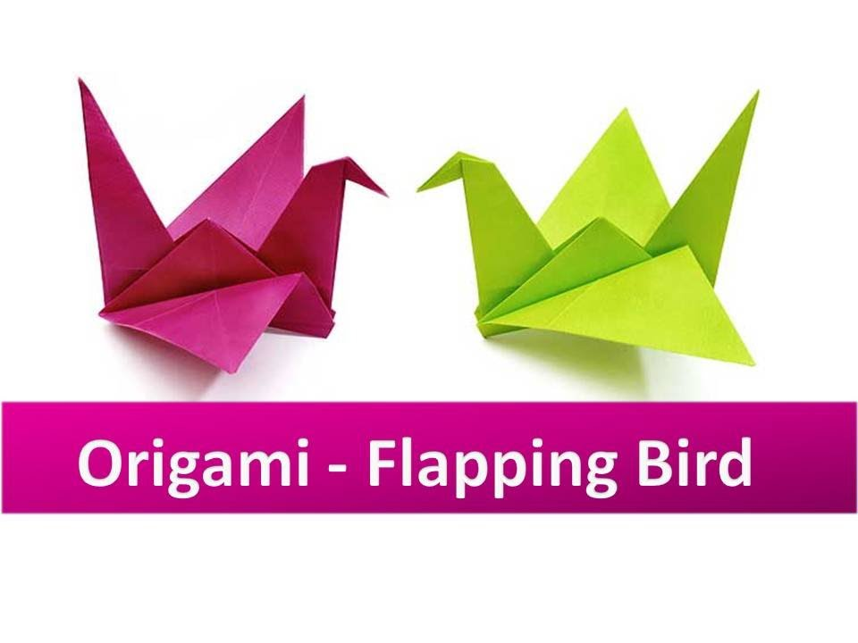 How To Make A Paper Crane Step By Step Video