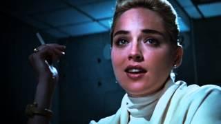 Delphine Interrogates Sharon Stone (OB + BASIC INSTINCT prompt)