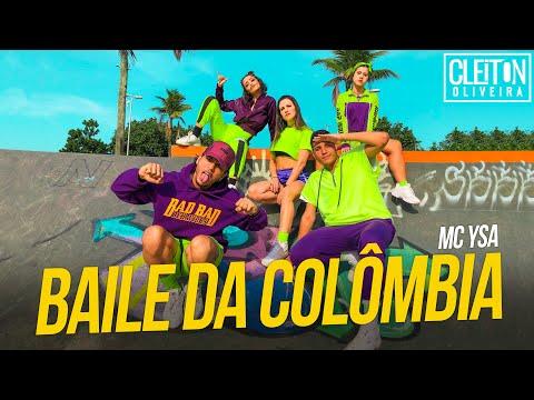 Baile da Colômbia - MC Ysa, Tinho do Coque, O Brutto, Shevchenko e Elloco (COREOGRAFIA)