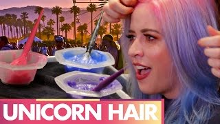 Lily's Unicorn Hair Transformation (Beauty Trippin)