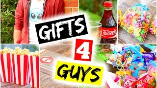 DIY Gifts For Guys! DIY Gift Ideas for Boyfriend, Dad, Brother, Partner, Friends, Valentine