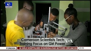 Cameroon Scientists Tech Training | Africa 54 |