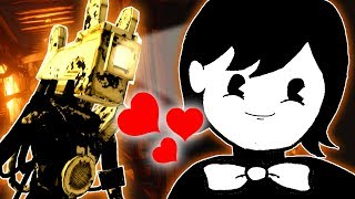 THIS PROVES THAT BENDY IS GOOD NOW!? | Bendy and the Ink Machine: Chapter 4 (Lets Play/Gameplay)