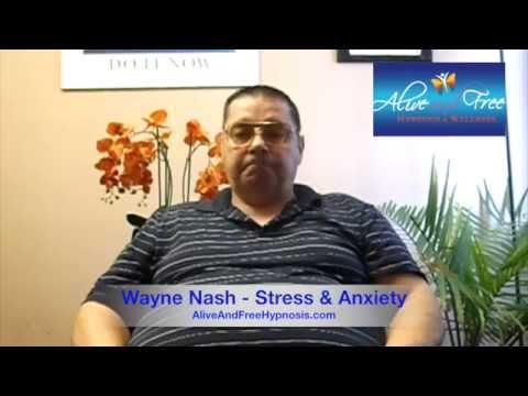 A&F Hypnosis Testimonial: Wayne Nash - Anxiety and Stress