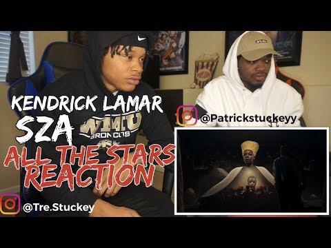 Kendrick Lamar, SZA - All The Stars - REACTION