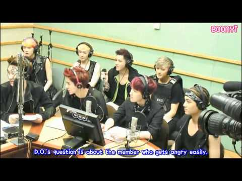EXO - 130530 Kiss The Radio - 60secs Mission Q&A (eng subbed)