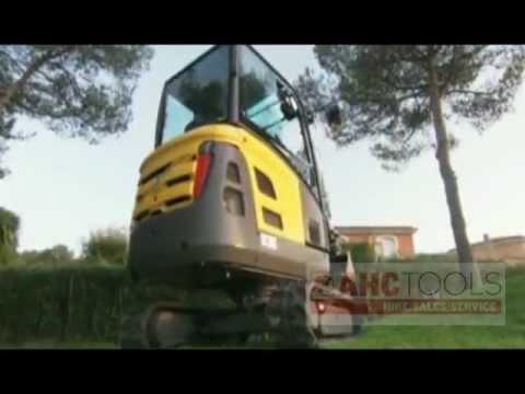 Volvo mini excavators EC18C, BS17 - AHC Tools (Alloa Hire Centre)