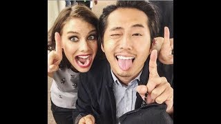 The Walking Dead Cast - Behind the Scenes (Random, Funny and Sweet Moments)