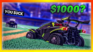 The time I challenged a trash talker to a $1,000 1v1 in Rocket League