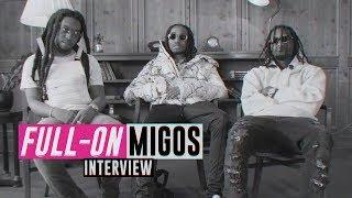FULL-ON // Migos Interview über ihren Erfolg, Essen, Autos & Geld