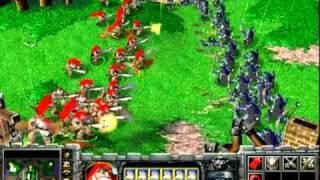 Warcraft 3 TFT 100 Food Rifleman vs Archer