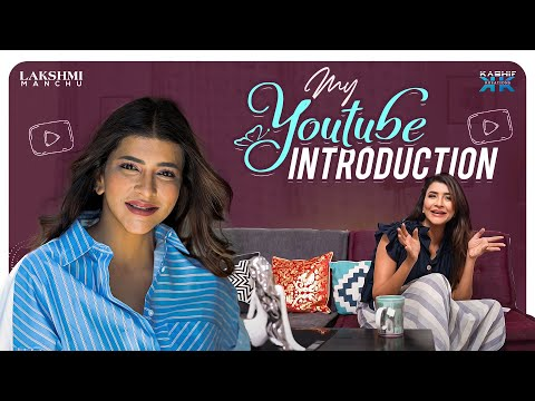 Manchu Lakshmi introduces her new YouTube channel, visuals of her house