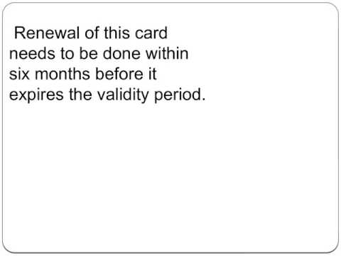 Renew Permanent Resident Card Canada