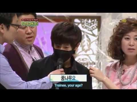 [ENG] 110101 Quiz to Change The World Minwoo Cut